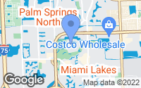 Map of Miami Lakes, FL