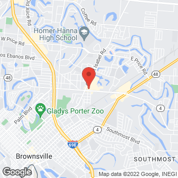 Map of Sprint at 2715 Boca Chica Blvd, Brownsville, TX 78521