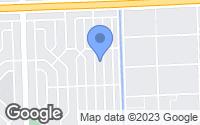 Map of Opa-locka, FL