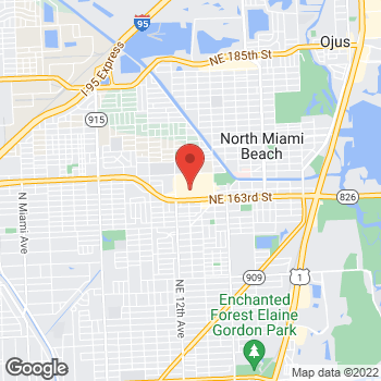 Map of Citi Trends at 1205 NE 163rd St., Miami, FL 33162
