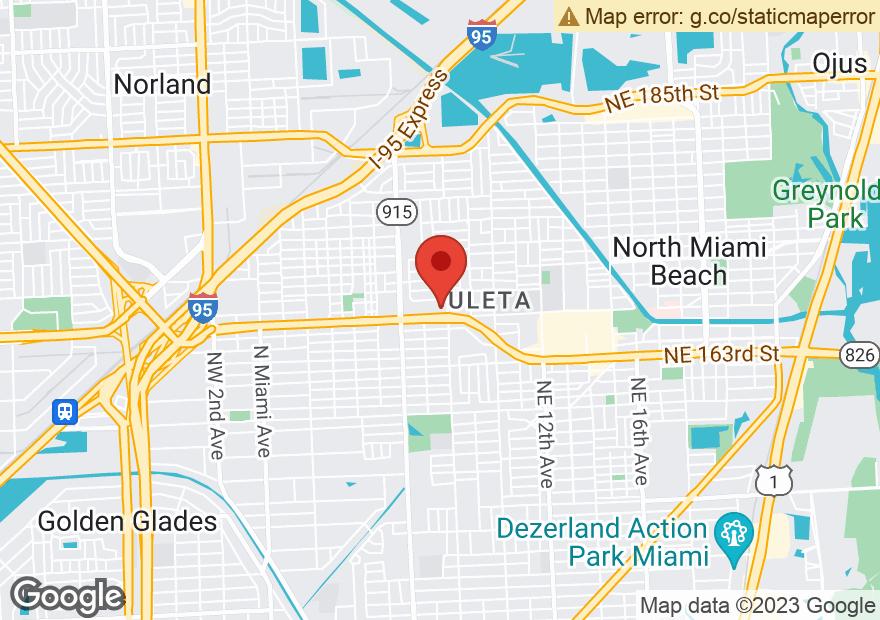 Google Map of 791 NE 167TH ST