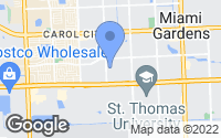 Map of Miami Gardens, FL