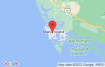 Map of Marco Island