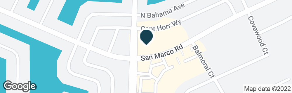 Google Map of1800 SAN MARCO RD