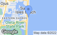 Map of Sunny Isles Beach, FL