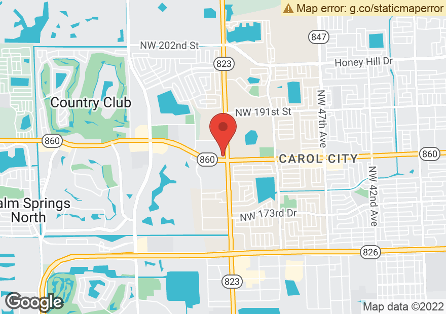Google Map of 5701 NW 183RD ST
