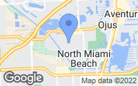 Map of North Miami Beach, FL