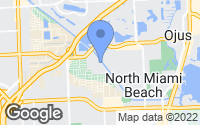 Map of North Miami Beach, FL