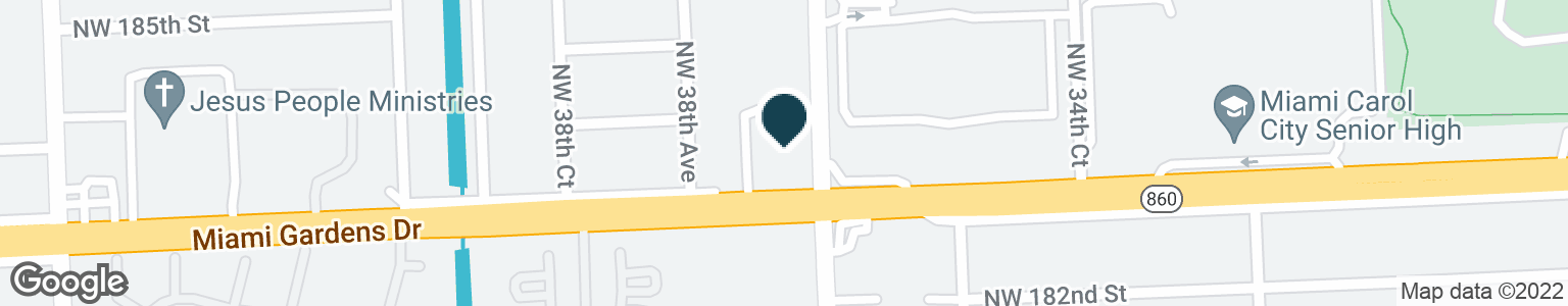 Google Map of18300 NW 37TH AVE
