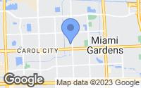 Map of Miami Gardens, FL