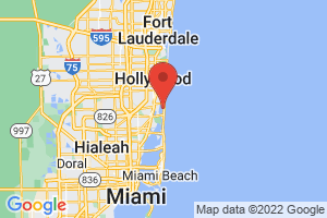 Map of Sunny Isles Beach