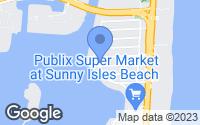 Map of Sunny Isles Beach, FL