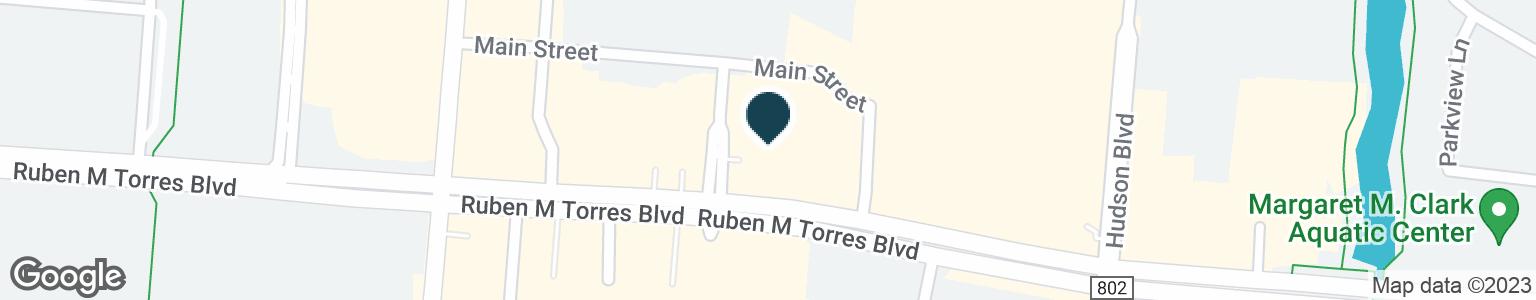 Google Map of2105 RUBEN TORRES SR BLVD