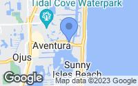 Map of Aventura, FL