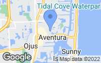 Map of Aventura, FL