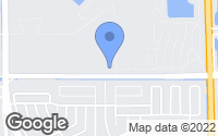 Map of Hialeah, FL