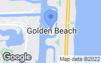 Map of Golden Beach, FL