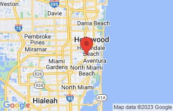Map of North Miami Beach