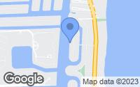 Map of Golden Beach, FL
