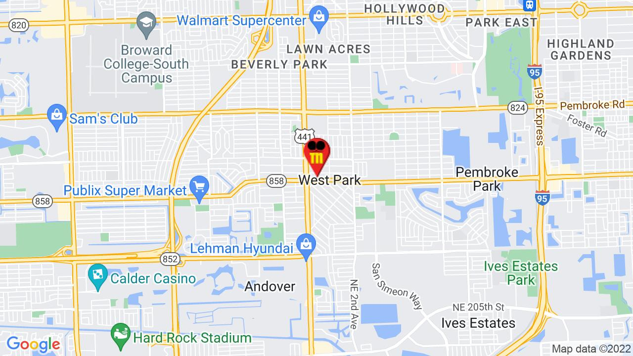 Google Map of Dade Commercial Pest Control