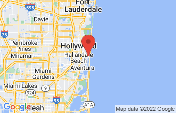 Map of Hallandale Beach