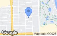 Map of Hallandale Beach, FL