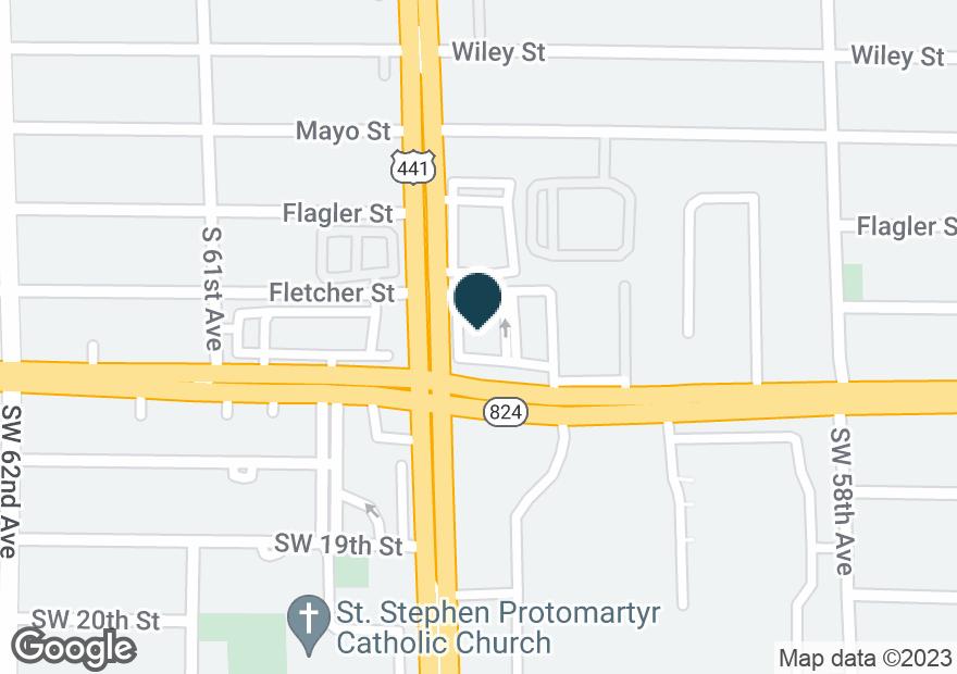 Google Map of5999 PEMBROKE RD