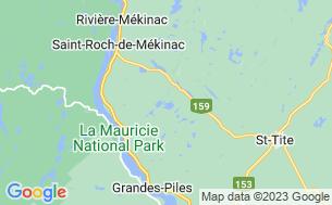 Map of Aire Nature Grandes-Piles (Réserve De Biodiversité Du Lac Clair)