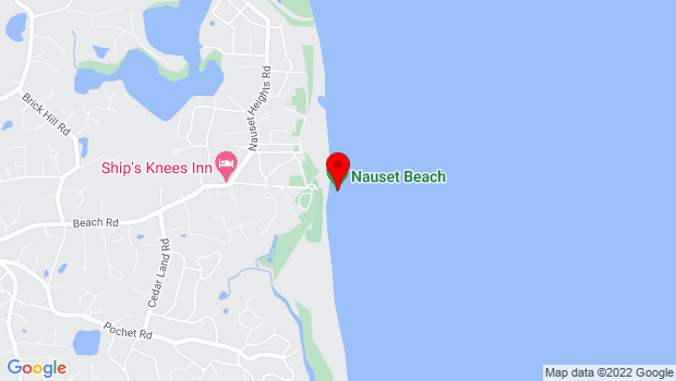 Google Map of 250 Beach Rd, Orleans, MA 02653