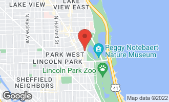 Map of 2500 North Lakeview Avenue #1503 CHICAGO, IL 60614