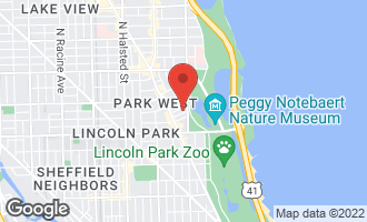Map of 2500 North Lakeview Avenue #2203 CHICAGO, IL 60614