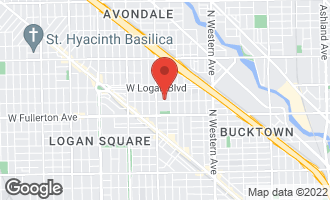 Map of 2501 North Fairfield Avenue CHICAGO, IL 60647