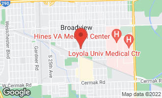 Map of 2504 South 16th Avenue BROADVIEW, IL 60155