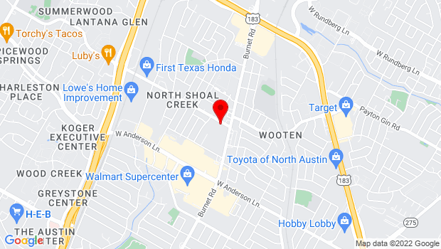 Google Map of 2505 Steck Ave, Austin, TX 78757