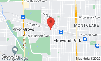 Map of 2509 North 78th Avenue Elmwood Park, IL 60707