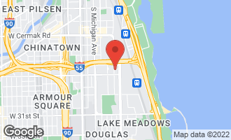 Map of 2509 South Calumet Avenue CHICAGO, IL 60616
