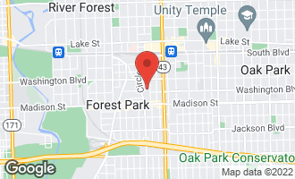 Map of 251 Marengo Avenue 3BS FOREST PARK, IL 60130