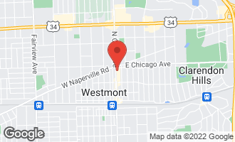 Map of 251 North Cass Avenue WESTMONT, IL 60559