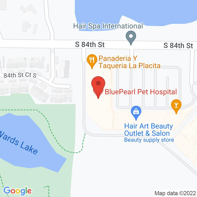 Google Map of 2510 84th St. S, Ste. 30D, Lakewood, WA 98499, 2510 84th St. S, Ste. 30D, Lakewood, WA 98499