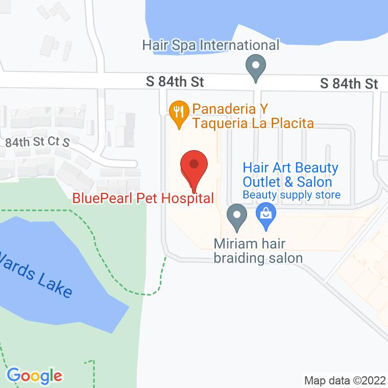 Google Map of 2510 84th St. South, Ste. 30D, Lakewood, WA, 98499