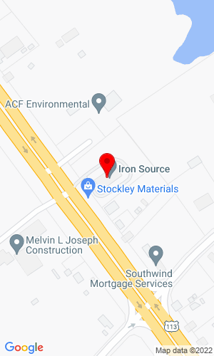 Google Map of Iron Source LLC 25113 DuPont Blvd., Georgetown, DE, 19947