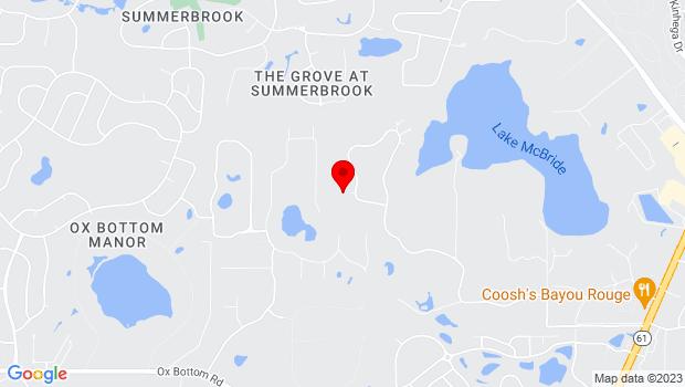 Google Map of 2514 Millstone Plantation Rd, Tallahassee, FL 32312