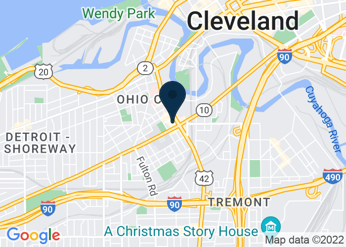 Map of 2516 Market Avenue, Cellar, Cleveland, OH 44113, United States