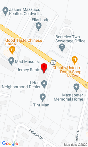 Google Map of 252 Atlantic City Blvd+Bayville+NJ+08721
