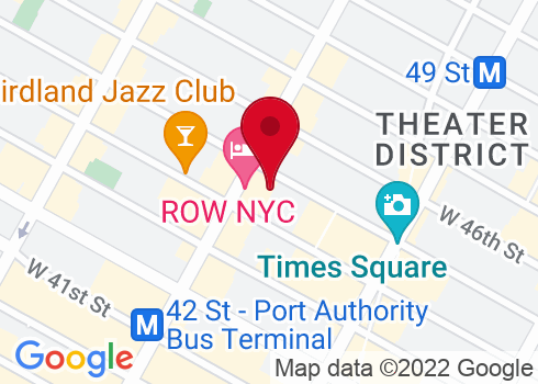 Golden Theatre Google Maps Location