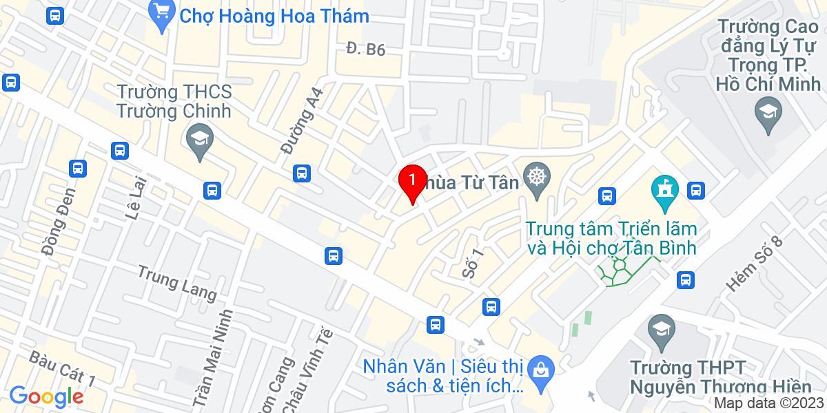 Google Map of 252 Nguyễn Thái Bình, Phường 12, Quận Tân Bình