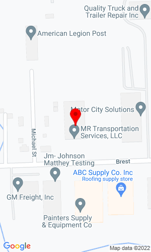 Google Map of Walter Payton Power Equipment LLC 25210 Brest Road, Taylor, MI, 48180