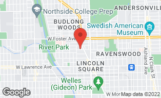 Map of 2530 West Winnemac Avenue 1W CHICAGO, IL 60625