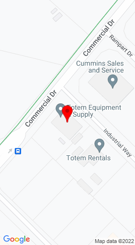Google Map of Totem Equipment & Supply, Inc. 2536 Commercial Drive,  Anchorage, AK, 99501