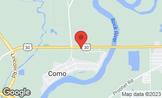 Map of 25460 Deer Run Road STERLING, IL 61081